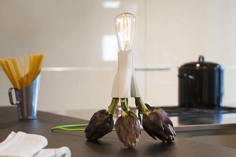Designer-Leuchten von design MID | Licht à la carte – mit Artischocke oder Pasta: Fantasia