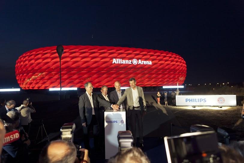 Allianz Arena: LED für FC Bayern