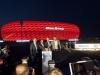 1.Jürgen Muth Geschäftsführer Allianz Arena, 2.Roger Kraner Geschäftsführer Philips Lighting DACH,3.Thomas Schönen Leiter Marke, Kommunikation und Digital Philips DACH, 4.Andreas Jung Vorstandsmitglied FC Bayern München AG