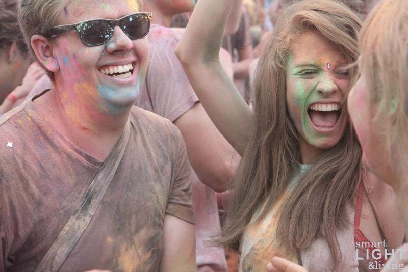 Holi festival flirten