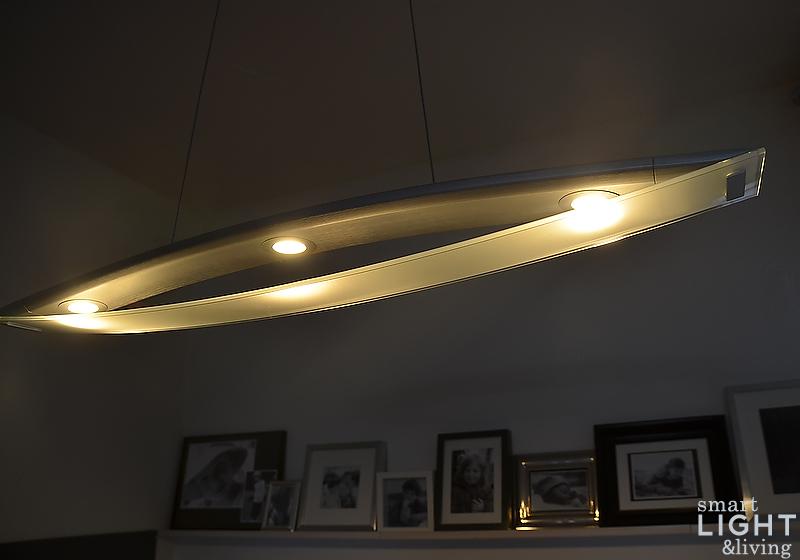 landlicht led kerzenschein vom deckenleuchter f r. Black Bedroom Furniture Sets. Home Design Ideas