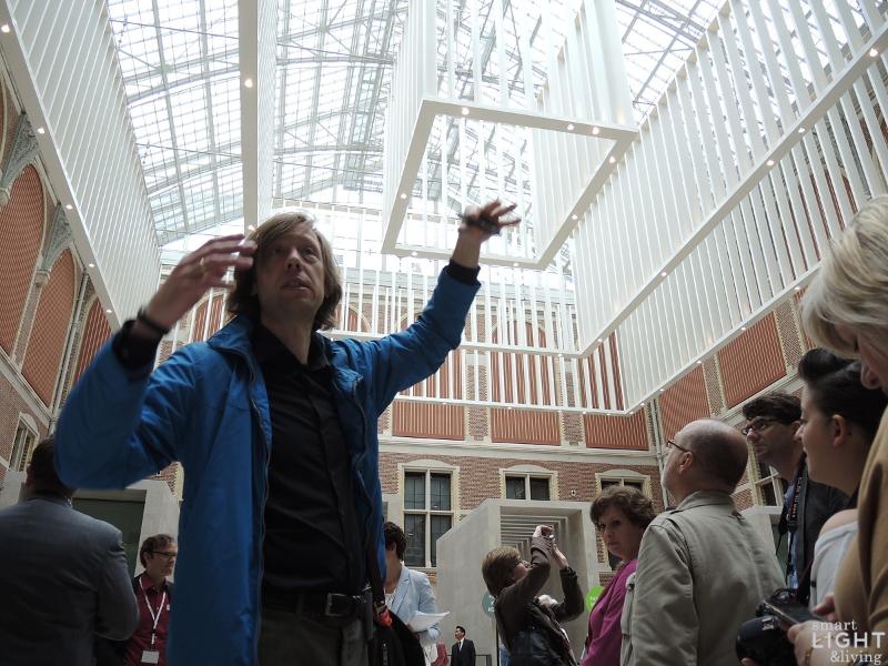 Licht Tour Amsterdam : Innovatives led licht im reichsmuseum amsterdam smart light living