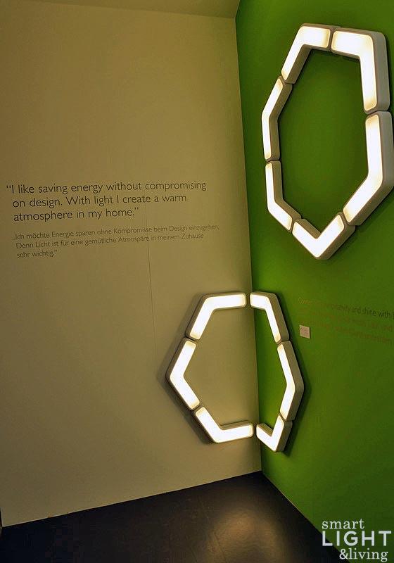 Leuchten Trends: Ecomoods Boomerang Leuchte / Light + Building 2