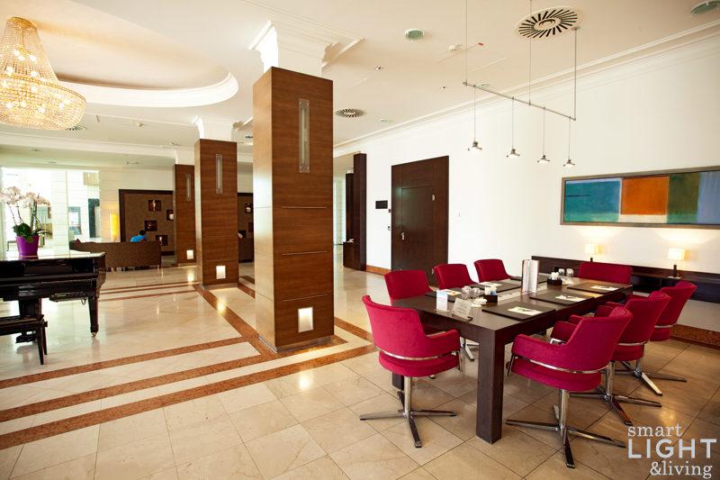 stimmungsvolles und effizientes licht business hotel kette nh hoteles stellt auf led um smart. Black Bedroom Furniture Sets. Home Design Ideas