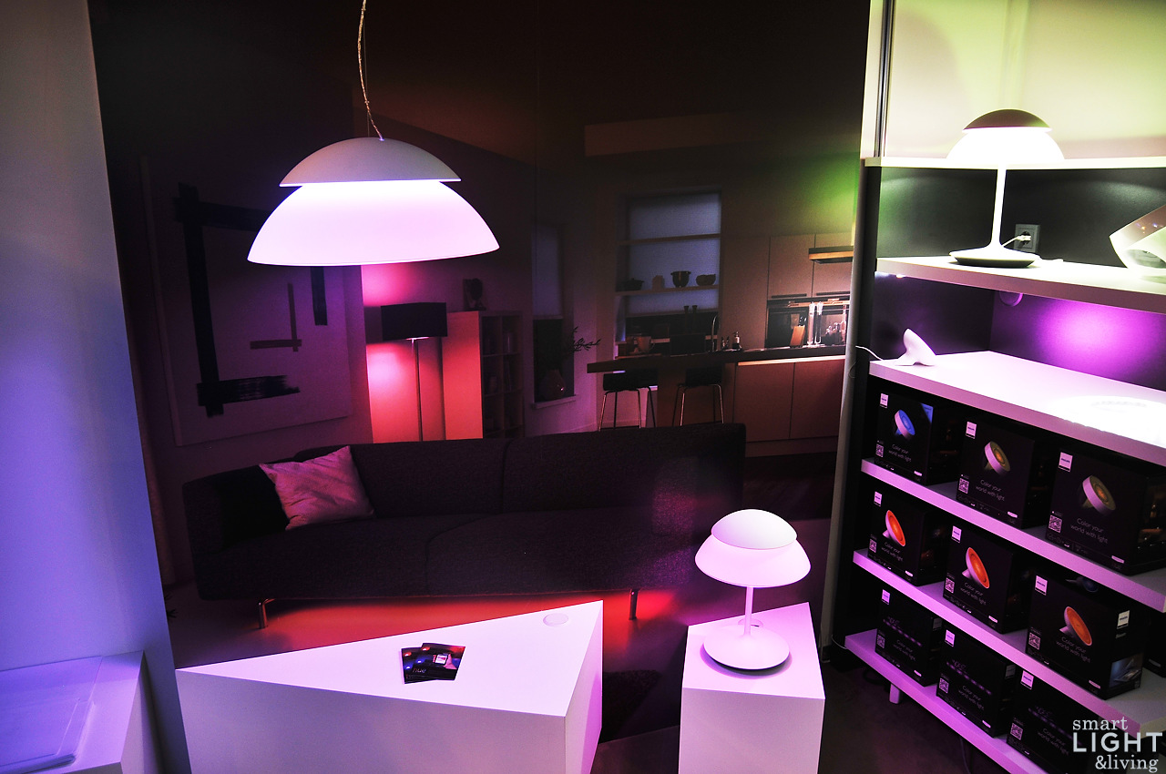 zweifach smart hue beyond das doppelte hue licht auf der ifa smart light living. Black Bedroom Furniture Sets. Home Design Ideas