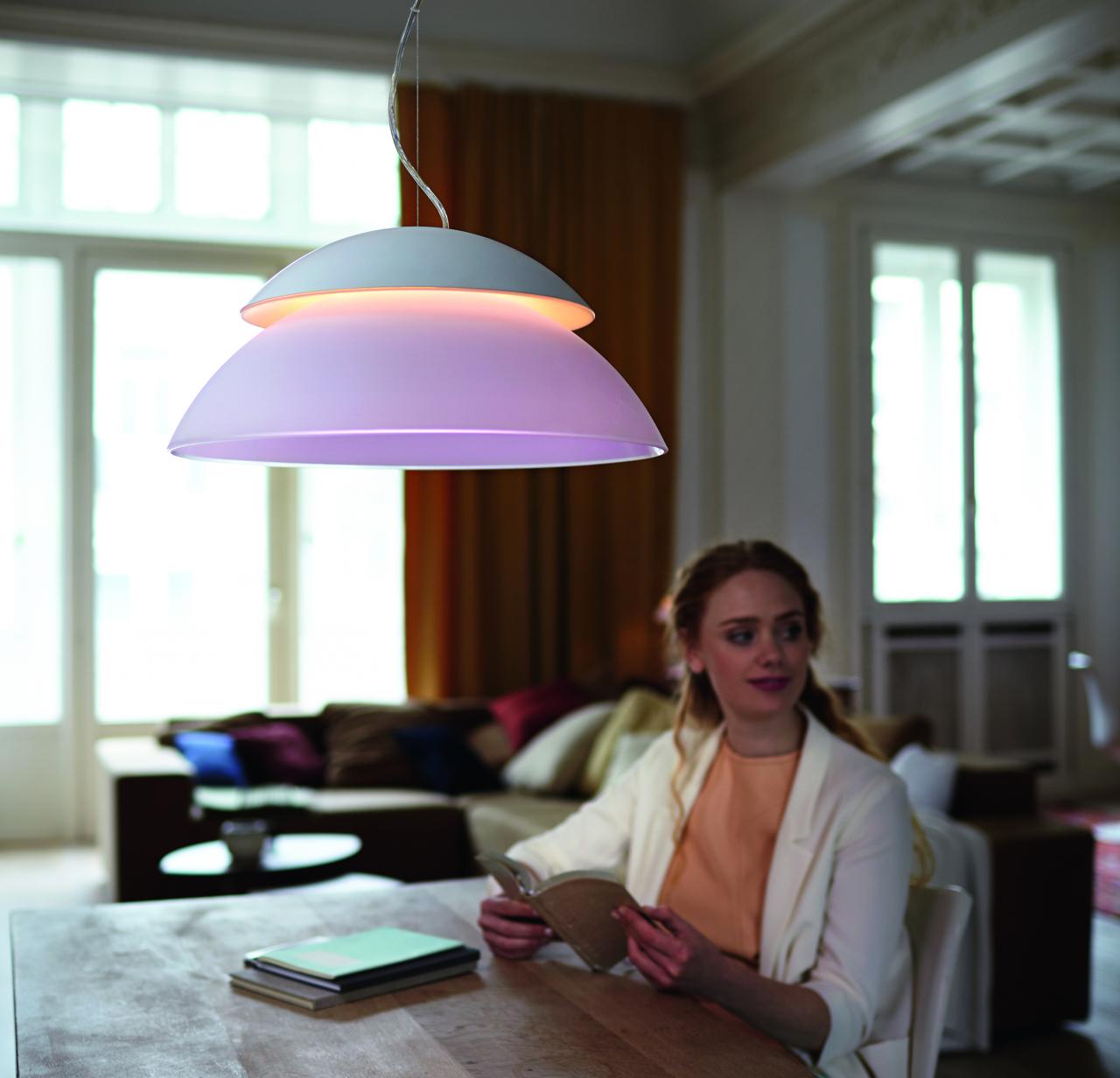 foto galerie hue beyond l sst licht mixen smart light living. Black Bedroom Furniture Sets. Home Design Ideas