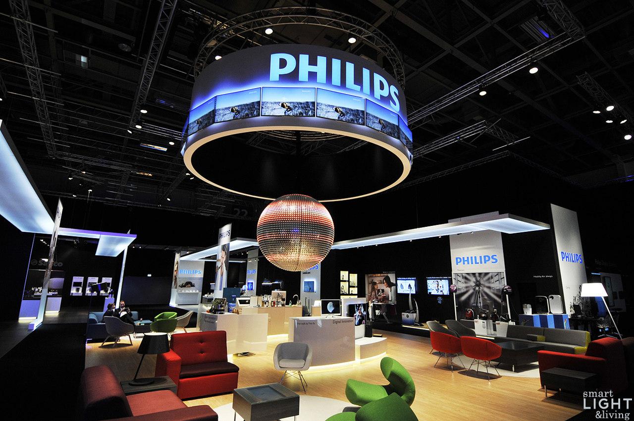 trends vernetztes licht philips zeigt smarte. Black Bedroom Furniture Sets. Home Design Ideas