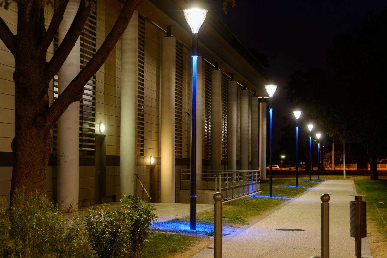 city lights kreative stadtbeleuchtung mit metronomis led. Black Bedroom Furniture Sets. Home Design Ideas
