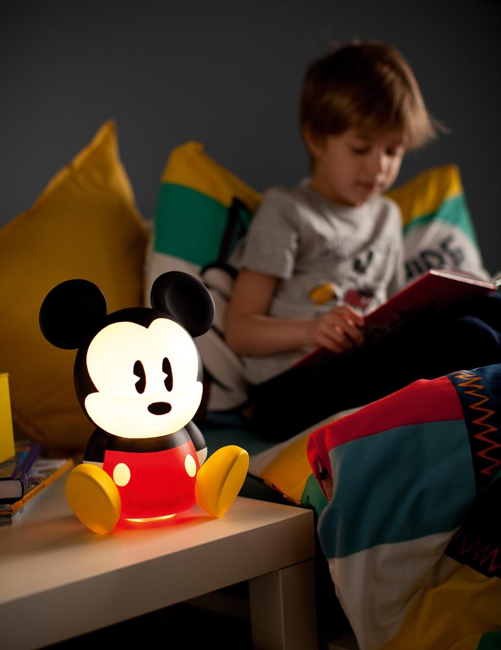 Micky Maus hilft beim Schlafen - als Disney Philips LED-Leuchte ...
