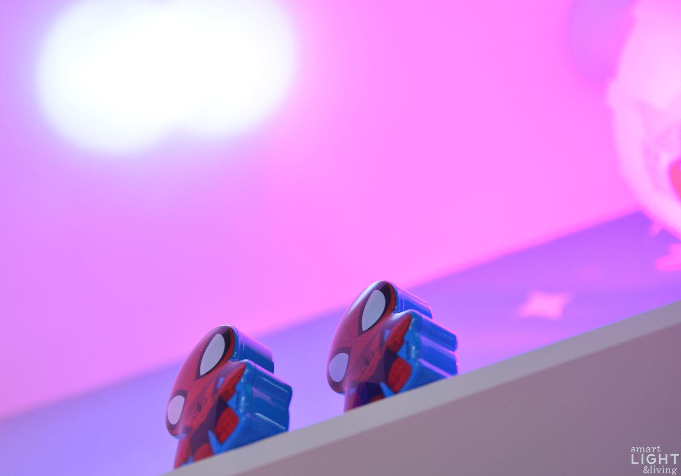 Light+Building | Licht mit Superheldenkraft: Spider-Man räumt im ...