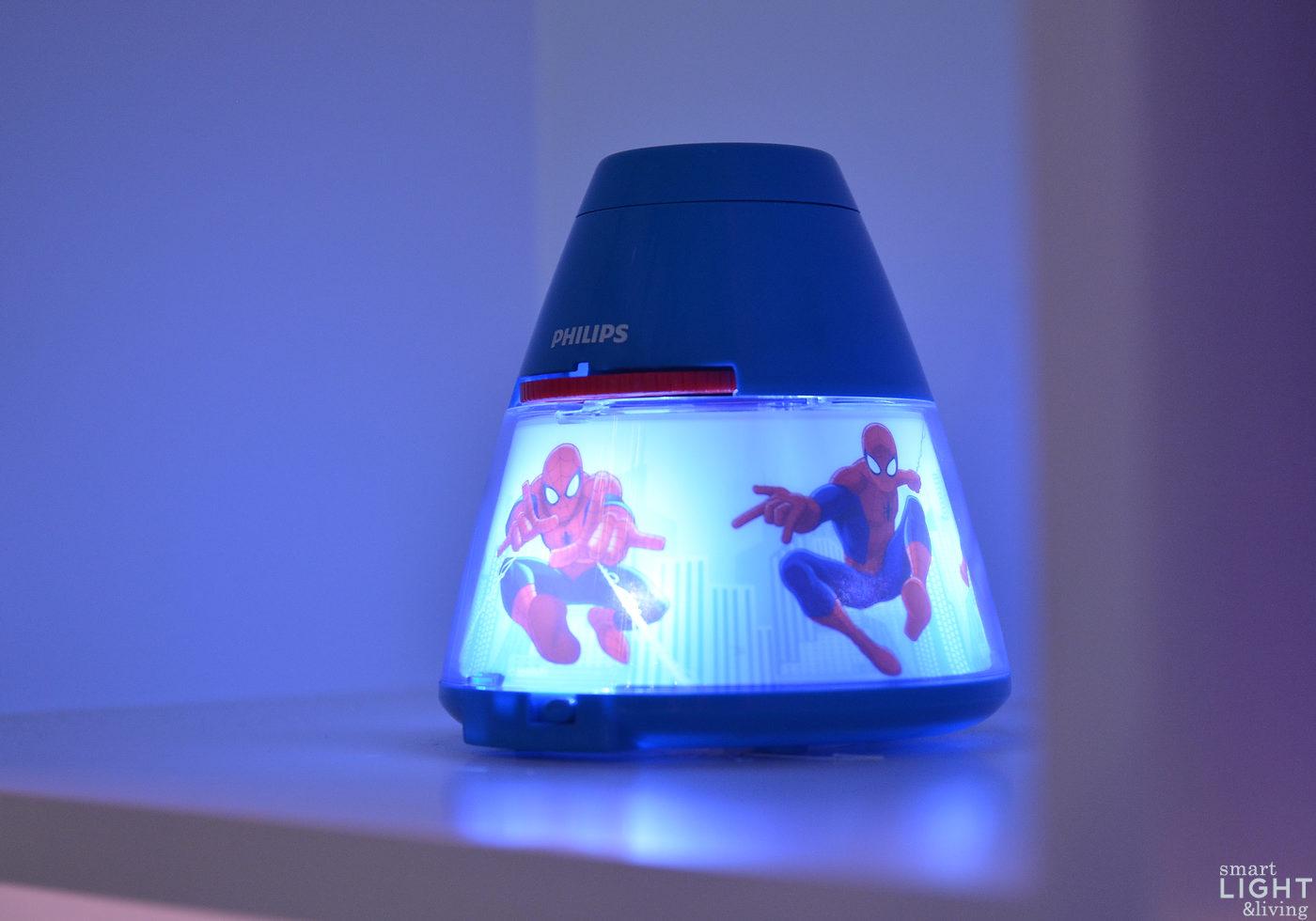 light+building | licht mit superheldenkraft: spider-man räumt im