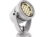 """eW Burst Powercore LED-Strahler verleihen dem Fachwerk sein besonderes \""""Nachtgesicht\""""."""