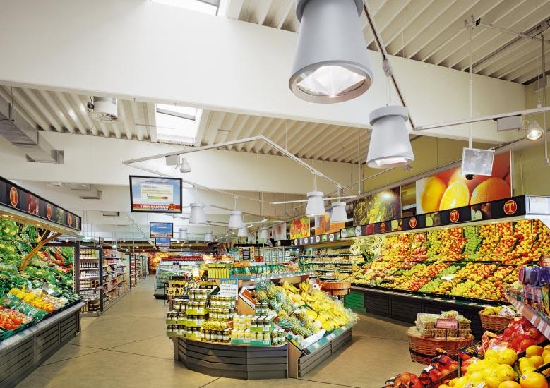Illuminesca shop beleuchtung total green store von for Beleuchtung shop