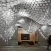 Paper Chandeliers: Cristina Parreño zaubert Licht-Reliefs aus Papier
