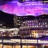 Licht-Kunst   Janet Echelman macht ihre planetaren Licht-Skulpturen interaktiv – mit Google #Video
