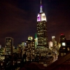 Empire State Building: LED Tower Light Show Feat. Alicia Keys (Video)