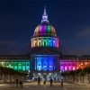 San Francisco City Hall leuchtet jetzt mit LED #Video