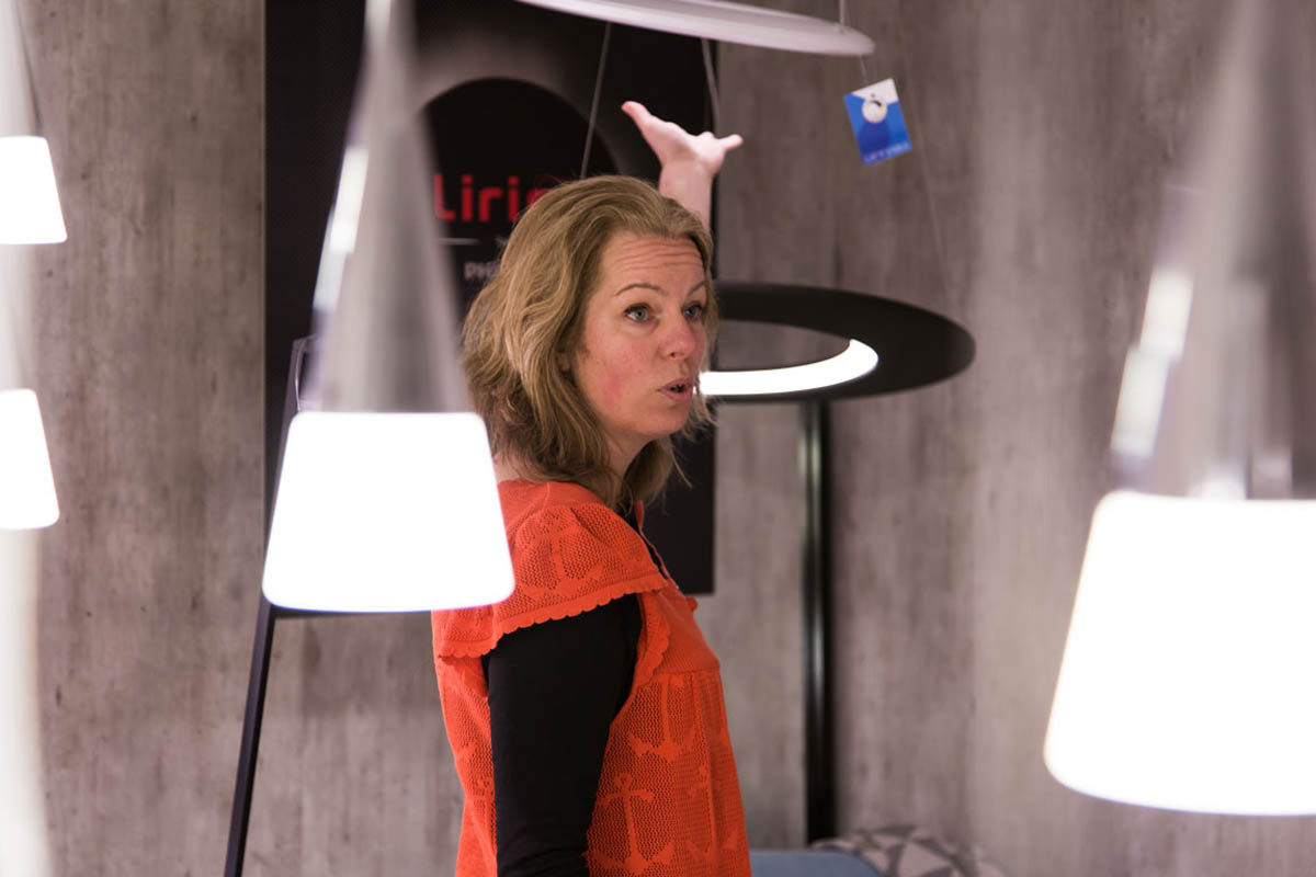 Meet the Designers in der Philips Lighting Design Zentrale in Kontich: Heleen Engelen