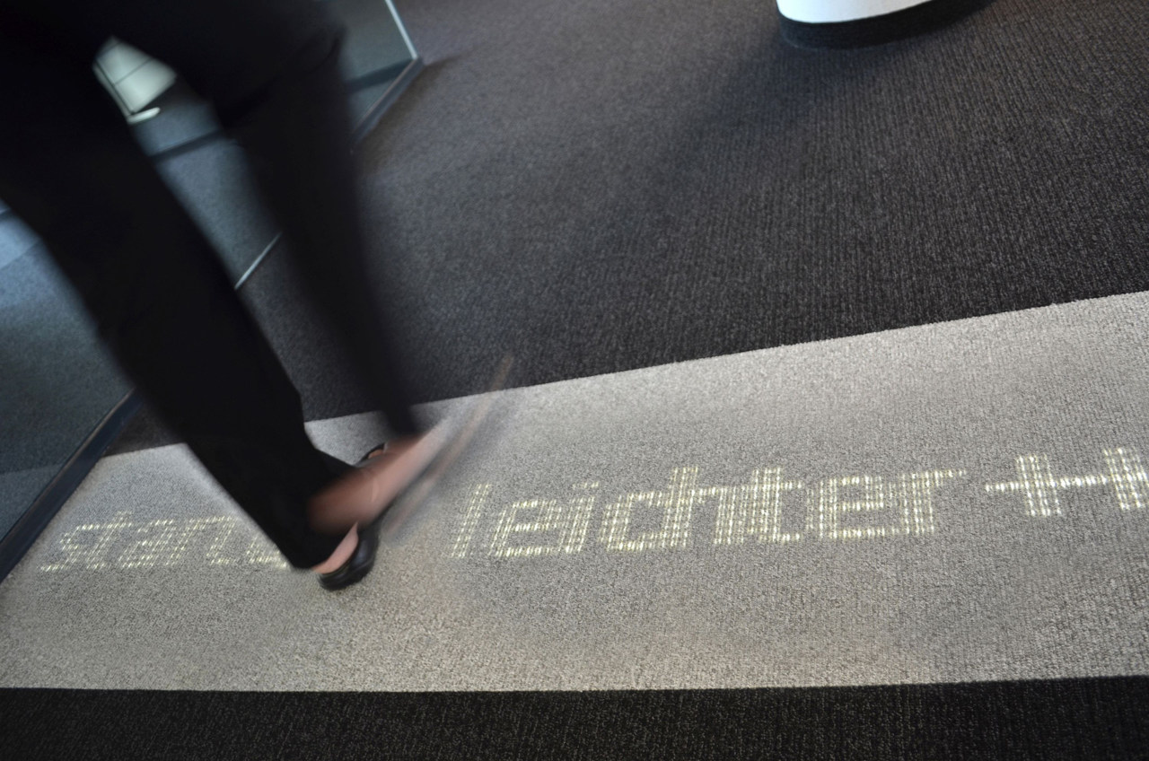 Luminous Carpets bei BILD in Berlin