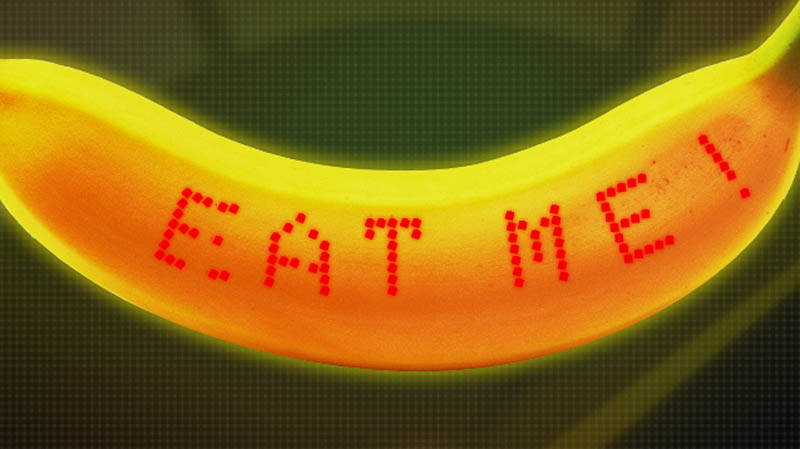 Wearable Banana - Smarte Bananen mit LED pushen Marathon-Läufer #Video