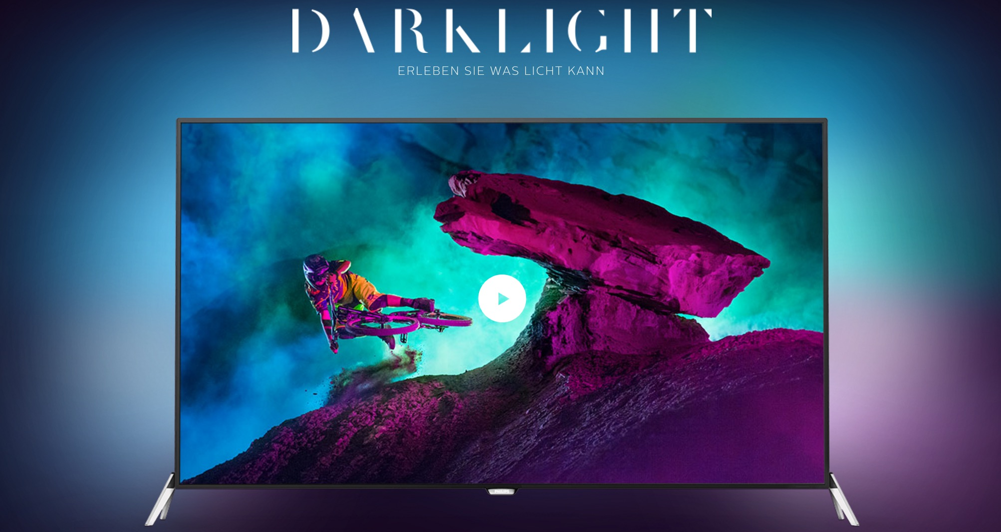 Philips Ambilight TV Darklight