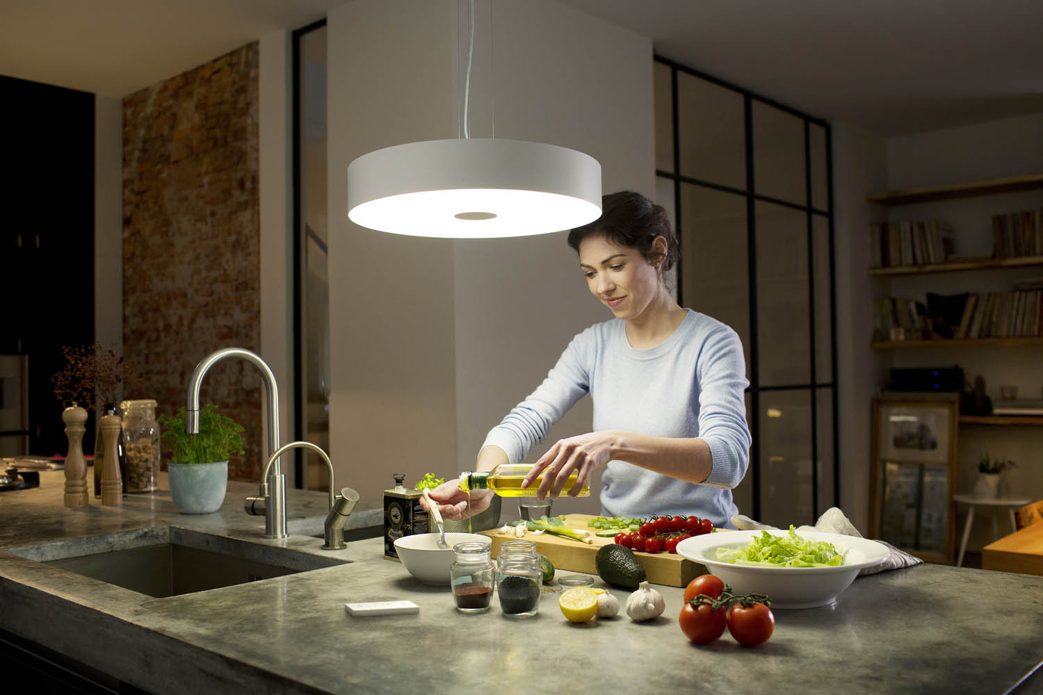 Philips Hue White Ambiance Leuchte Fair