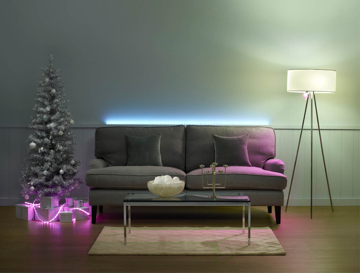 Weihnachtsbeleuchtung Philips Hue