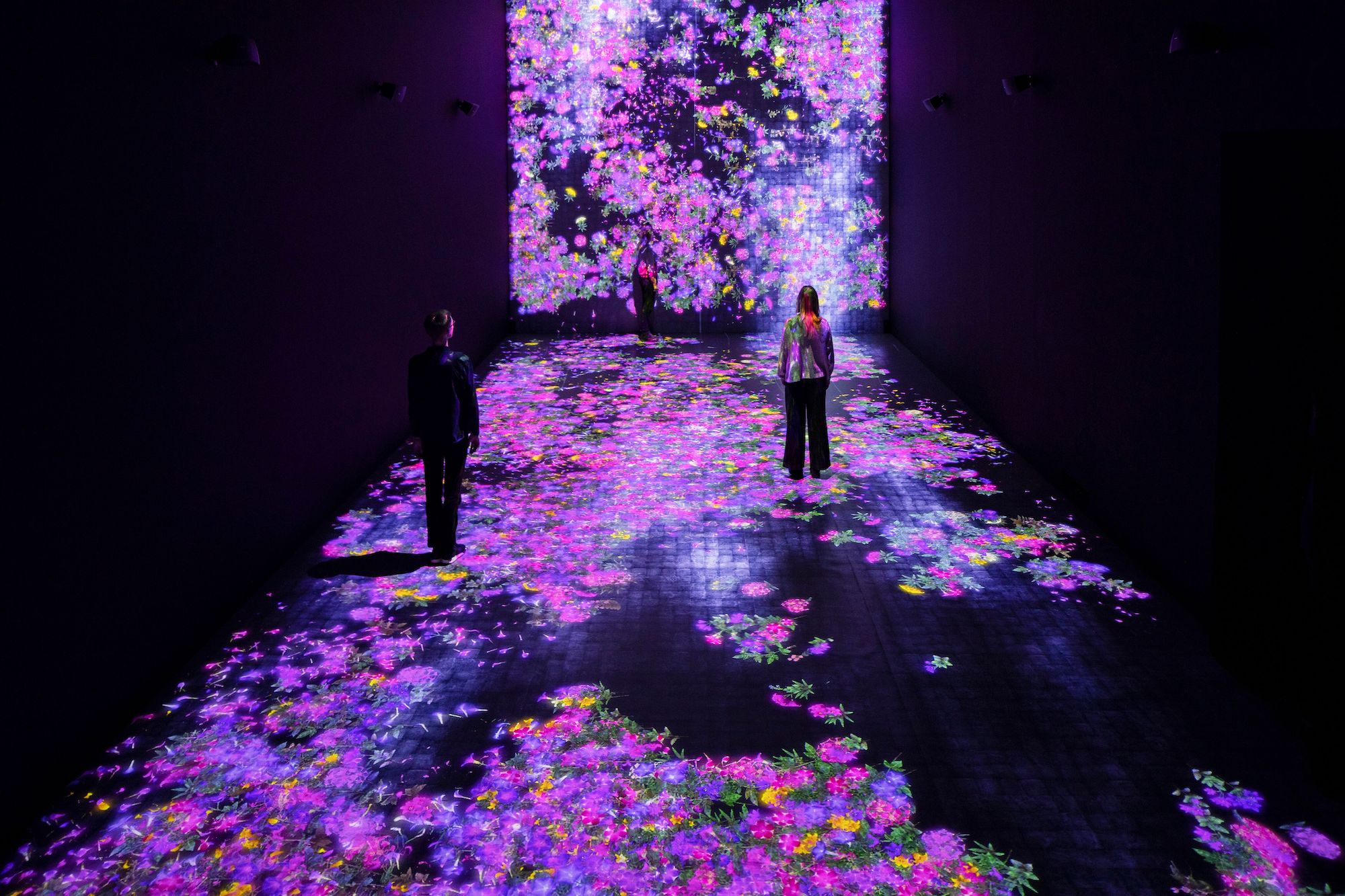 tomorrow is the question lichtinstallation teamlab kunstmuseum ARoS