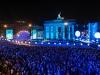 25 Jahre Mauerfall in Berlin - Feier am Brandenburger Tor