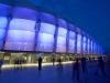 Beleuchtung des Stadions in Posen