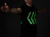 """LED-Klamotten: Wenn T-Shirts den Verkehr regeln / \""""The Human Signal\"""" ©  Jaka Plešec"""