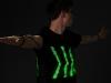"""LED-Klamotten: Wenn T-Shirts den Verkehr regeln / \""""The Human Signal\"""" (c) Jaka Plešec"""