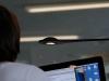 LED-Tischleuchte im Home Office
