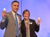 Philips Pressekonferenz mit Eric-Rondolat & Amy-Huntington - press conference Light+Building 2014 - LB2014