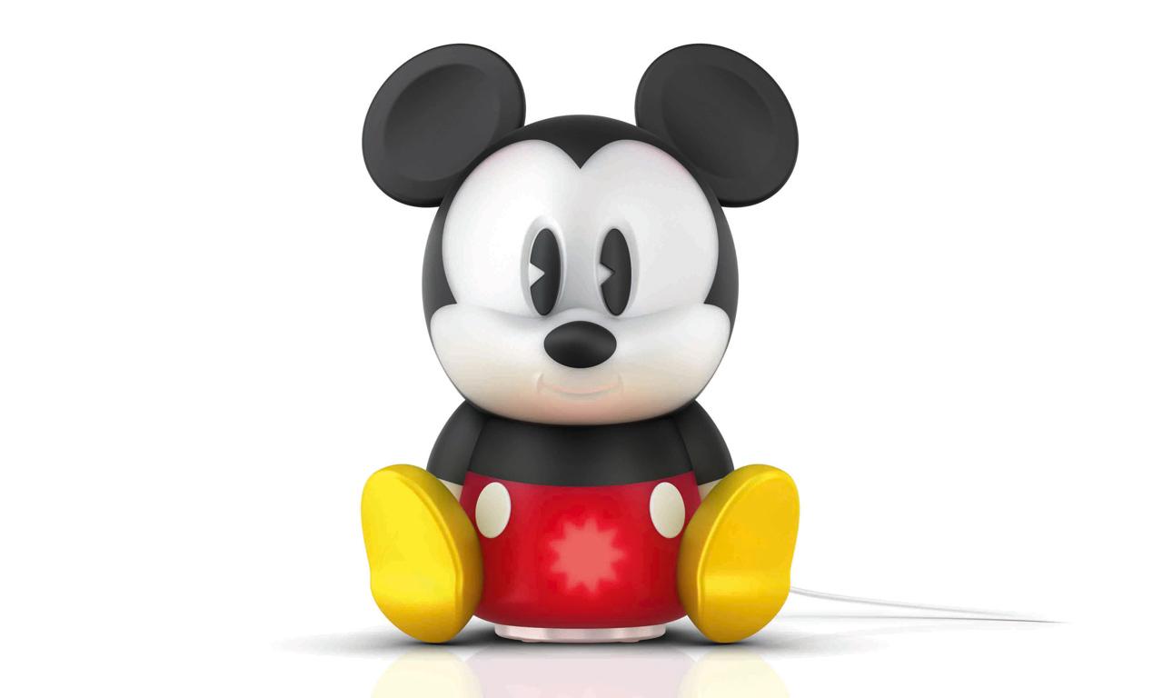Micky Maus hilft beim Schlafen - als Disney Philips LED ...