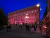 Philips illuminiert weltberuehmte Wahrzeichen: Palazzo-Marino-Milan-Italy