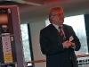 """Rüdiger Storim, von der Ströer Out-of-Home Media AG,  beim Pressegespräch zur OLED-Plakat-Aktion """"Next Generation"""" bei Philips"""