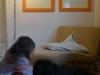 Retro-Licht: Philips Ecomoods Stehleuchte mit Chrom und Glas